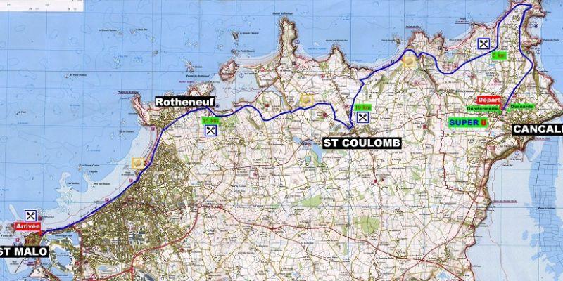 Semi-marathon Cancale-Saint-Malo
