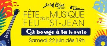 Annulés - Ça bouge à la Houle - Fête de la Musique et feu de la Saint Jean Saint-Briac-sur-Mer