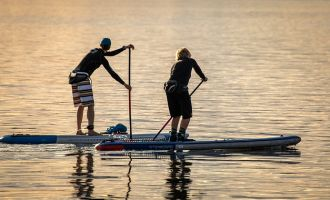 Hédé / La Richardais en paddle organisé par Boldsupair