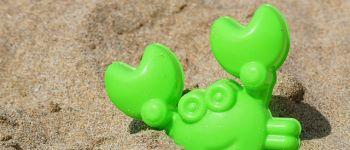 Sortie touts petits sur la plage Lancieux