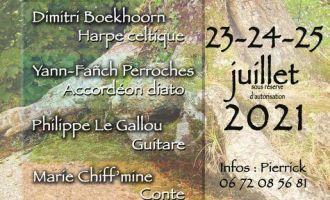 Stage d\été en Brocéliande : Musique, contes et danses bretonnes