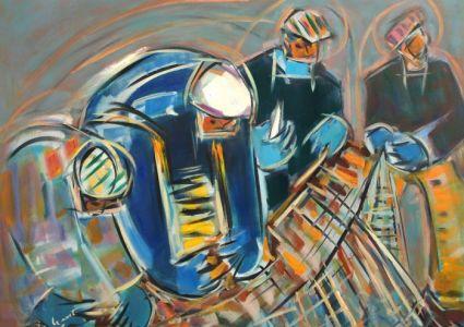 Atelier dartiste Alain Le Nost, peinture