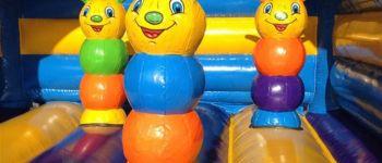Parc éphémère de structures gonflables Plougoumelen
