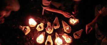Soirée aux Menhirs \\A la lueur des flammes\\ Monteneuf