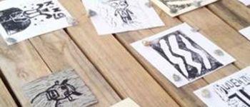 Atelier gravure à la Pepiterre SARZEAU
