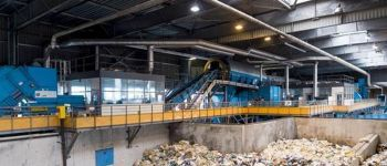 Visite du centre de tri des déchets recyclables VANNES