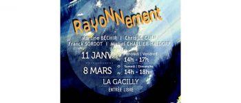 Exposition \\Rayonnement\\ à La Passerelle La Gacilly