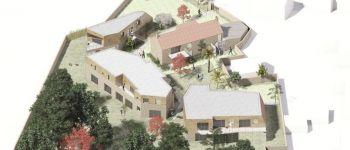 Visite de l\habitat sain, le Pré commun, chantier ouvert La Montagne
