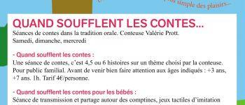Quand soufflent les contes pour les bébés : Les p'tites bêtes Nantes