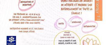 Ateliers familiaux bien-être Nantes