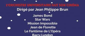 Concert de Noël : l'orchestre fait son cinéma Brest