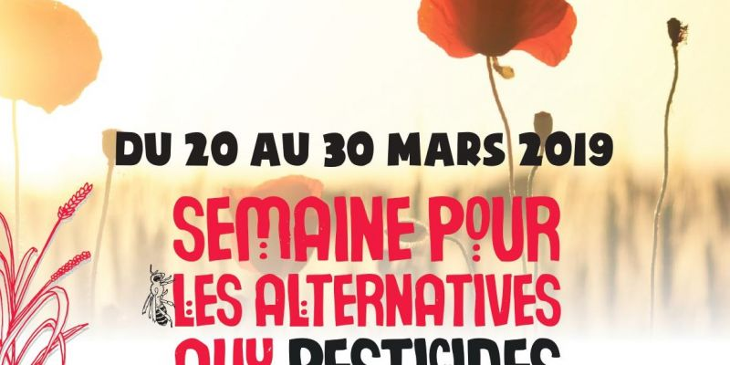 Semaine sans pesticides - Projection