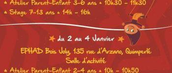 Stage de Cirque Noël 2018 Quimperlé