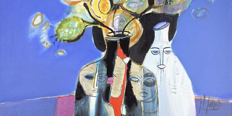 Exposition peinture de Carricondo et Karmax