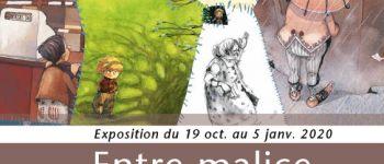 Exposition \Entre malice et poésie - Illustrations de Christelle Le Guen\\ Ploëzal