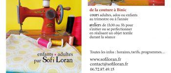 Atelier couture enfants et ados : Déco de Noël ! Binic-Étables-sur-Mer