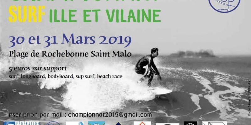 Championnat dIlle-et-Vilaine de surf