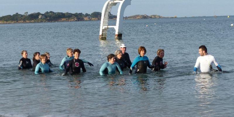 Marche aquatique au Kélenn