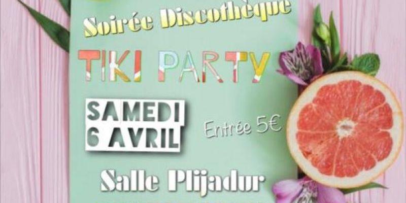 Soirée discothèque Tiki Party