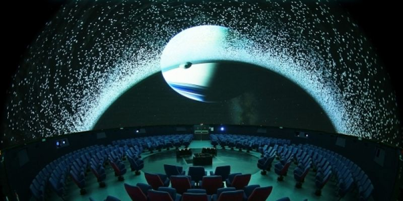 Planétarium de Bretagne - On the Moon Again !