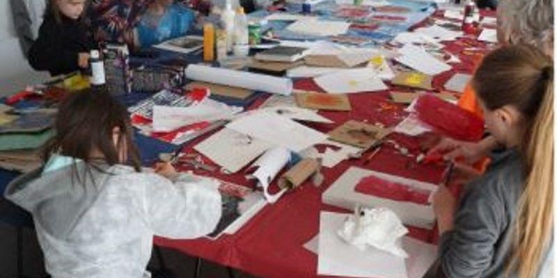 Atelier gravure pour jeunes