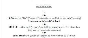 Atelier « Seniors connectés et mobiles ! » Brest