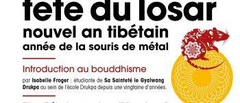 Fête du Losar, Nouvel an tibétain, année de la souris de métal Rennes