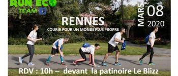Sortie plogging Run Eco Team : courez pour un monde plus propre Rennes