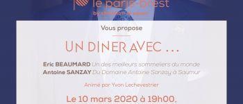 Un dîner avec Eric Beaumard et Antoine Sanzay Rennes