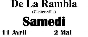 Brocante, vide-greniers de La Rambla Lorient