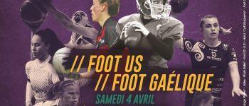 Les Sports s\emm\Elles 2020 : animation, initiation football gaélique et football américain Rennes