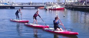 Séance de paddle : initiation, perfectionnement, balade Lorient