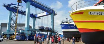Secrets de navires : l'aire de réparation navale de Keroman Lorient