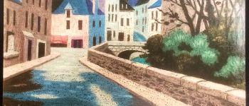Exposition andré even - galerie izart Pont-aven