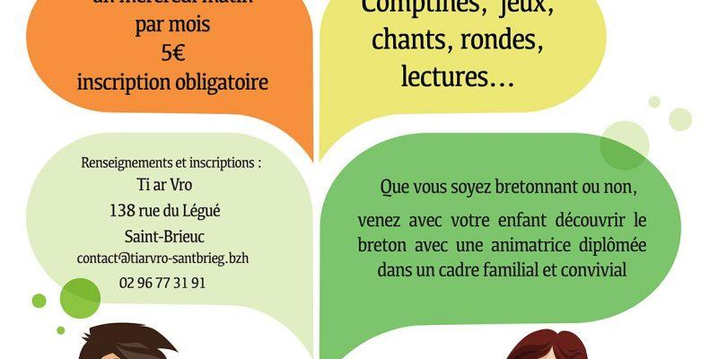 Atelier déveil au breton pour les tout petits