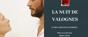 Théâtre - la nuit de Valognes d\Eric-Emmanuel Schmitt par la cie Alter Ego de vannes  Vannes