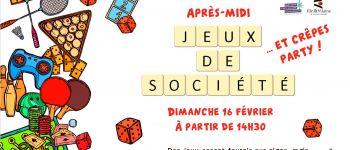 Après-midi jeux de société et crêpes party La couyère