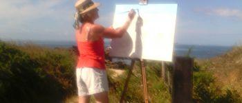 Stage peinture en atelier, alentours de pont-aven Pont-aven