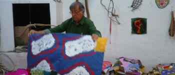 Claude viallat - exposition personnelle de peintures récentes Rennes