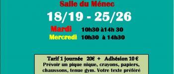 Ateliers artistiques 8/12 ans Carnac