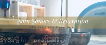 Soin sonore & relaxation Nantes