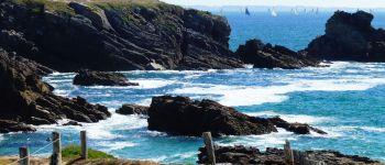 La côte sauvage grandeur nature, là où elle atteint sa pleine mesure Saint-pierre quiberon