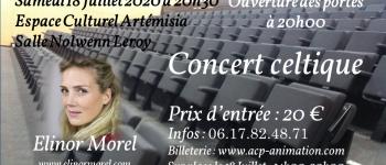 Concert de chants et musiques celtiques par elinor morel La gacilly