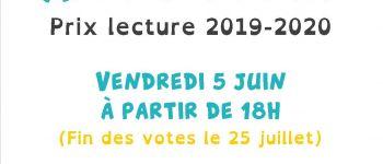Apéro-débat prix lecture 2019-2020 Saulnières