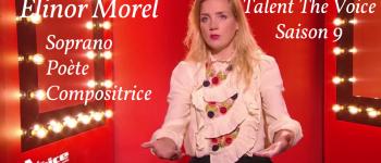 Elinor morel en concert talent the voice saison 9 soprano poète compositrice La gacilly