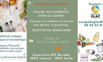 Atelier \eco essentiel\ dans la cuisine - recettes et astuces durables