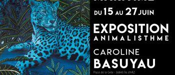 Animalisthme - exposition de l\artiste peintre animalière caroline basuyau Île darz