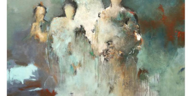 I. Malmezat invitée dhonneur à la Galerie Laute