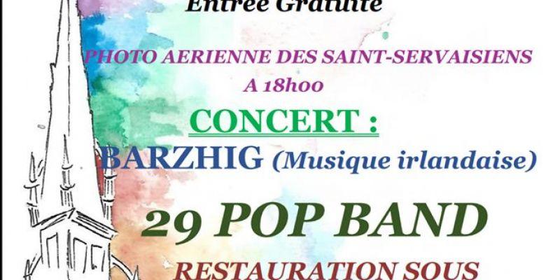 Saint-Servais en fête #3 cochon grillé - concerts - feu dartifice