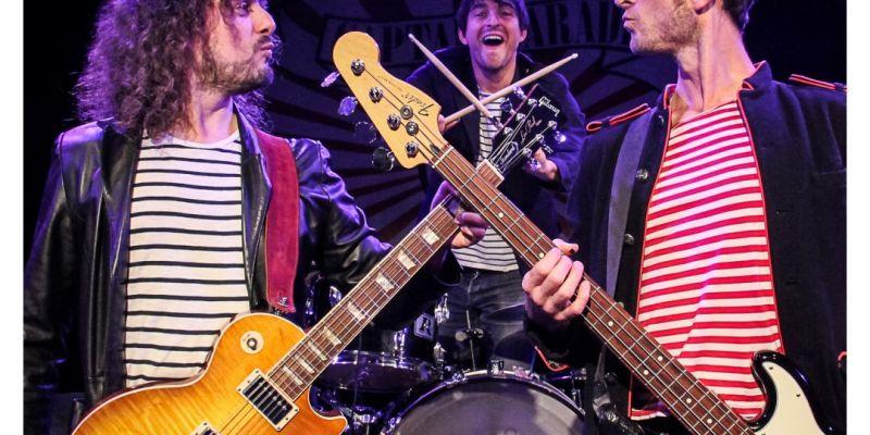 Captain parade (concert de rock pour les enfants de 5 à 105 ans !)
